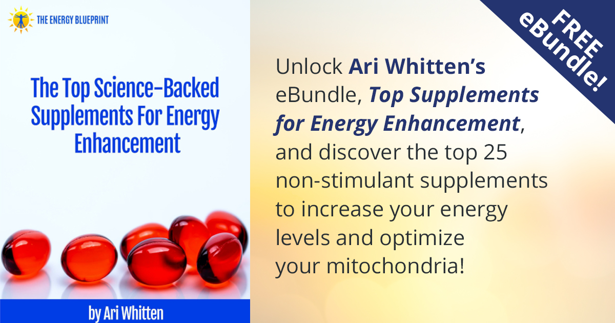 Superhuman Energy Summit Free 68-page eBook on non-stimulant energy supplements Download